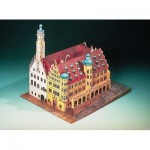 Puzzle   Maquette en Carton : Hôtel de Ville de Rothenbourg