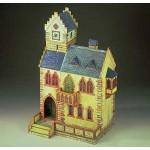 Puzzle   Maquette en Carton : Hôtel de ville médiéval