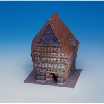 Puzzle   Maquette en Carton : Knochenhauer-Amtshaus - Hildesheim