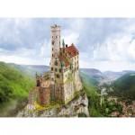 Puzzle   Maquette en Carton :  Lichtenstein