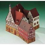 Puzzle   Maquette en Carton : Mairie de Forchheim
