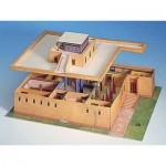 Puzzle   Maquette en Carton : Maison d'habitation Egyptienne