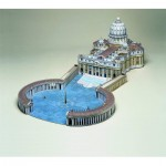 Puzzle   Maquette en carton : Place Saint Pierre, Rome