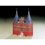Puzzle   Maquette en carton : Porte de Holstein à Lübeck