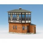 Maquette en carton : Station d'aiguillages Poseneck