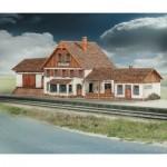 Puzzle   Maquette en carton : Station de train de Friedbach