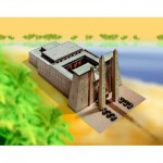 Puzzle   Maquette en Carton : Temple Egyptien