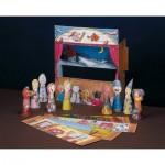 Puzzle   Maquette en Carton : Théâtre de Marionnettes à Doigts