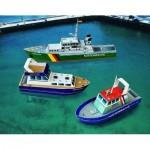 Maquette en Carton : Trois Petits Navires