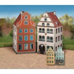 Puzzle   Maquette en Carton : Vieille Ville, Set 1