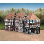 Puzzle   Maquette en Carton : Vieille Ville, Set 2