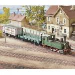 Puzzle   Maquette en Carton : Württemberg T3 Locomotive
