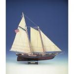 Puzzle   Maquette en Carton : Yacht America