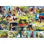 Puzzle   Farmland Collage