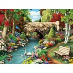 Puzzle  Master-Pieces-31401 Pièces XXL - Willow Whispers