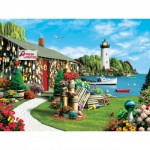 Puzzle  Master-Pieces-31543 Pièces XXL - Lobster Bay