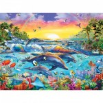 Puzzle  Master-Pieces-31609 Pièces XXL - Sea of Eden