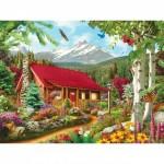 Puzzle  Master-Pieces-31654 Pièces XXL - Mountain Hideaway