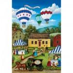 Puzzle  Master-Pieces-31716 Pièces Mini - World's Smallest - Blueberry Festival