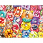 Puzzle  Master-Pieces-31845 Pièces XXL - Donut Resist