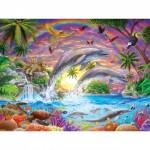 Puzzle  Master-Pieces-31850 Pièces XXL - Fantasy Isle
