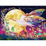 Puzzle  Master-Pieces-31852 Pièces XXL - Glow in the Dark - Moon Fairy