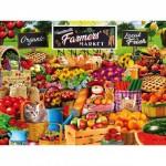Puzzle  Master-Pieces-31868 Pièces XXL - Farmers Market