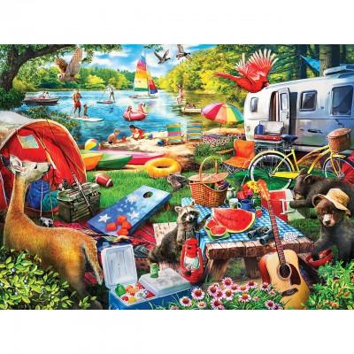 Puzzle Master-Pieces-31900 Pièces XXL - Little Rascals