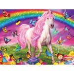Puzzle  Master-Pieces-32003 Pièces XXL - Glow in the Dark - Rainbow World