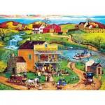 Puzzle  Master-Pieces-32006 Pièces XXL - Cooper's Corner