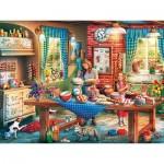 Puzzle  Master-Pieces-32042 Baking Bread