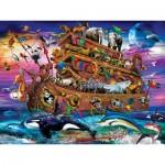 Puzzle  Master-Pieces-32103 Pièces XXL - Noah's Ark