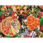 Puzzle  Master-Pieces-32108 Pièces XXL - Viva la Pizza