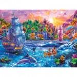 Puzzle  Master-Pieces-32121 Pièces XXL - Tropics Paradise Found