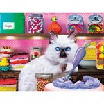 Puzzle  Master-Pieces-32150 Pièces XXL - Kitten Cake Shop