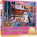 Puzzle  Master-Pieces-32153 Pièces XXL - Winter Visitors