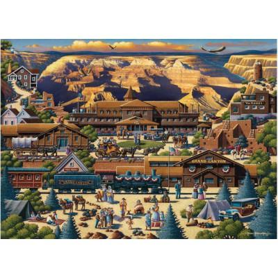 Master-Pieces-45118 Puzzle en Valisette - Grand Canyon