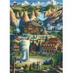 Master-Pieces-71171 Puzzle en Valisette - Yellowstone