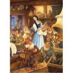 Puzzle  Master-Pieces-71237 Blanche-Neige et les sept nains