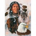 Puzzle  Master-Pieces-71454 Tribal Spirit - One Spirit