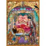 Puzzle  Master-Pieces-71659 Book Box - La Belle au Bois Dormant