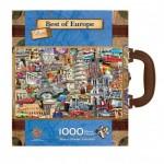 Master-Pieces-71672 Puzzle en Valisette - Best of Europe