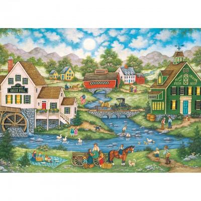 Puzzle Master-Pieces-71732 Millside Picnic