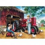 Puzzle  Master-Pieces-71741 Barnyard Memories
