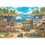 Puzzle  Master-Pieces-71828 Pièces XXL - Mr. Wiggins Whirligigs