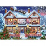 Puzzle  Master-Pieces-71915 Home for the Holidays