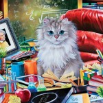 Puzzle  Master-Pieces-71946 Cat-ology - Einstein