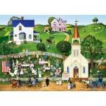 Puzzle  Master-Pieces-71956 Strawberry Sunday