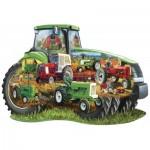 Puzzle  Master-Pieces-71958 Tracteur