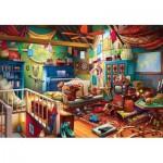 Puzzle  Master-Pieces-71962 Pièces XXL - Attic Treasures